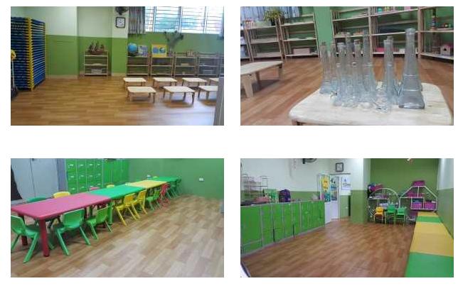 Cơ sở vật chất trường mầm non Xuân Phong với các cơ sở tại Hà Nội và TP HCM (Ảnh: website trường)
