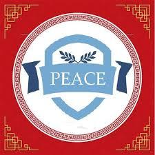 Logo trường mầm non Peace School tại quận Cầu Giấy, Hà Nội (Ảnh: FB trường)