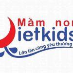 Logo trường mầm non Vietkids, quận Bắc Từ Liêm, Hà Nội (Ảnh: FB trường)