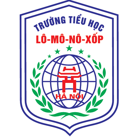 Logo trường tiểu học Lômônôxốp, quận Nam Từ Liêm, Hà Nội (Ảnh: FB trường)
