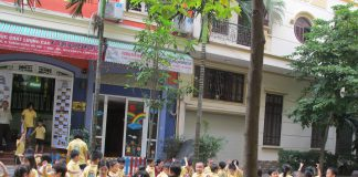 Trường mầm non Color House, quận Thanh Xuân, Hà Nội (Ảnh: website nhà trường)