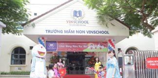 Mầm non Vinschool (Ảnh: website nhà trường)