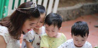 Mầm non Wonderland, quận Đống Đa, Hà Nội (Ảnh: FB trường)