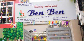 Trường mầm non Ben Ben, quận Long Biên, Hà Nội (Ảnh: FB nhà trường)