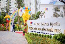 Trường mầm non Năng khiếu Louis, quận Cầu Giấy, Hà Nội (Ảnh: website nhà trường)