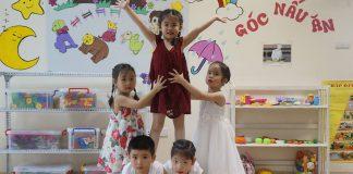 Trường mầm non Olympus, quận Đống Đa và Hai Bà Trưng, Hà Nội (Ảnh: Fb trường)