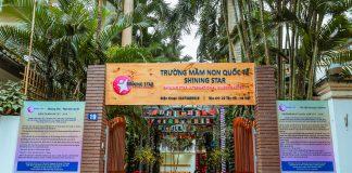 Trường mầm non quốc tế Shining Star, quận Tây Hồ, Hà Nội (Ảnh: website trường)