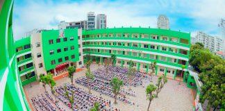 Trường Tiểu học Lômônôxốp, quận Nam Từ Liêm, Hà Nội (Ảnh: website trường)