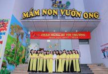 Cơ sở vật chất trường mầm non Bee Garden tại Hà Nội (Ảnh: FB trường)