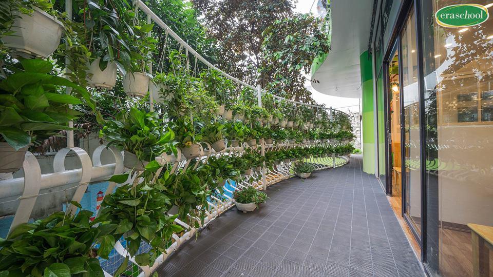 Cơ sở vật chất trường mầm non Eraschool cơ sở Văn Quán, quận Hà Đông, Hà Nội (Ảnh: FB trường)