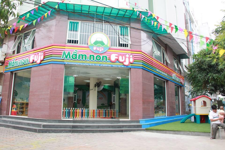 Cơ sở vật chất trường mầm non Fuji, Hà Nội (Ảnh: FB trường)
