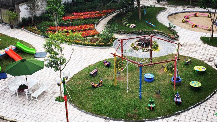 Mầm non Kinder Green (Hai Bà Trưng, Hà Nội)