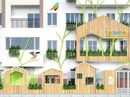 Trường mầm non La Stella - Ngôi sao xinh tại quận Hai Bà Trưng, Hà Nội (Ảnh: FB trường)