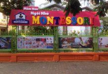 Cơ sở vật chất trường mầm non Ngôi nhà Montessori, quận Hoàng Mai, Hà Nội (Ảnh: FB trường)
