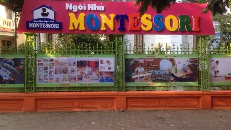Mầm non Ngôi nhà Montessori (Hoàng Mai, Hà Nội)