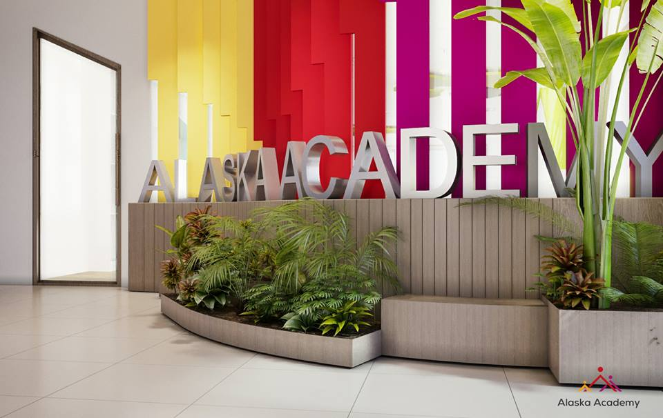 Cơ sở vật chất trường Tiểu học Quốc tế Alaska - Alaska Academy tại quận Cầu Giấy, Hà Nội (Ảnh: FB trường)