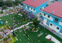 Trường mầm non Sunshine House với 2 cơ sở tại quận Long Biên và quận Bắc Từ Liêm, Hà Nội (Ảnh: FB trường)