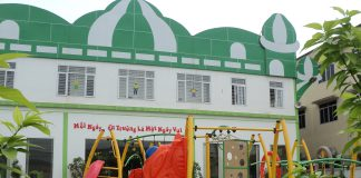 Trường mầm non Aplus tại quận Cầu Giấy, quận Long Biên - Hà Nội (Ảnh: website trường)