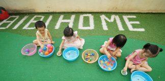 Trường mầm non Bibihome, quận Đống Đa, Hà Nội (Ảnh: FB trường)