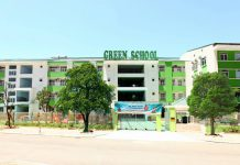 Trường mầm non Green School, quận Hoàng Mai, Hà Nội (Ảnh: website trường)
