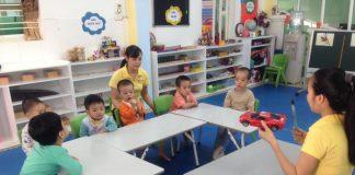 trường mầm non Newstar - Ngôi sao sáng tại quận Cầu Giấy, Hà Nội (Ảnh: FB trường)
