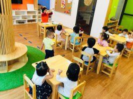 Trường mầm non quốc tế Việt Anh Montessori, quận Đống Đa, Hà Nội (Ảnh: FB trường)