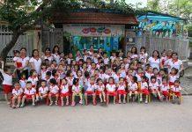 Trường mầm non song ngữ North Star Canada, quận Hoàng Mai, Hà Nội (Ảnh: FB trường)