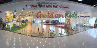 Cơ sở vật chất trường mầm non Golden Kids - Thế hệ vàng, cơ sở TTTM Mipec, quận Long Biên, Hà Nội (Ảnh: FB trường)