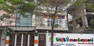 Trường mầm non Việt Ý Montessori, quận Hoàng Mai, Hà Nội (Ảnh: website trường)
