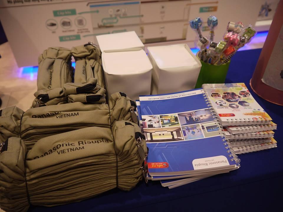 Các phần qua cho hoạt động cuối tuần nhân nghỉ lễ 2/9 tại Panasonic Risupia, Hà Nội (Ảnh: FB Panasonic Risupia)