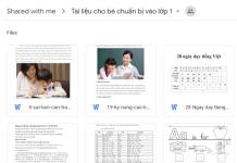 Bộ hơn 50 tài liệu dành cho PH có con chuẩn bị vào lớp 1. Thông tin được chia sẻ bởi thành viên Nguyen Huong ngày 24/5