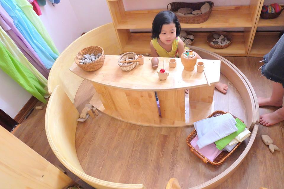 Cơ sở vật chất trường mầm non Bông Gạo Steiner, quận Nam Từ Liêm, Hà Nội (Ảnh: FB trường)