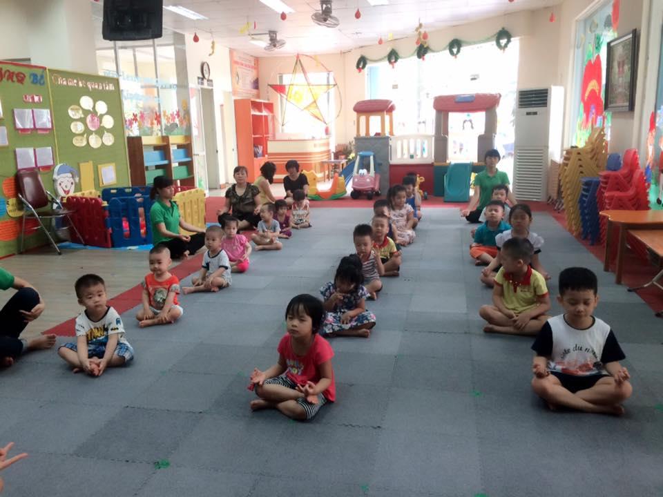 Cơ sở vật chất trường mầm non Globe Kids tại quận Cầu Giấy, Hà Nội (Ảnh: FB trường)