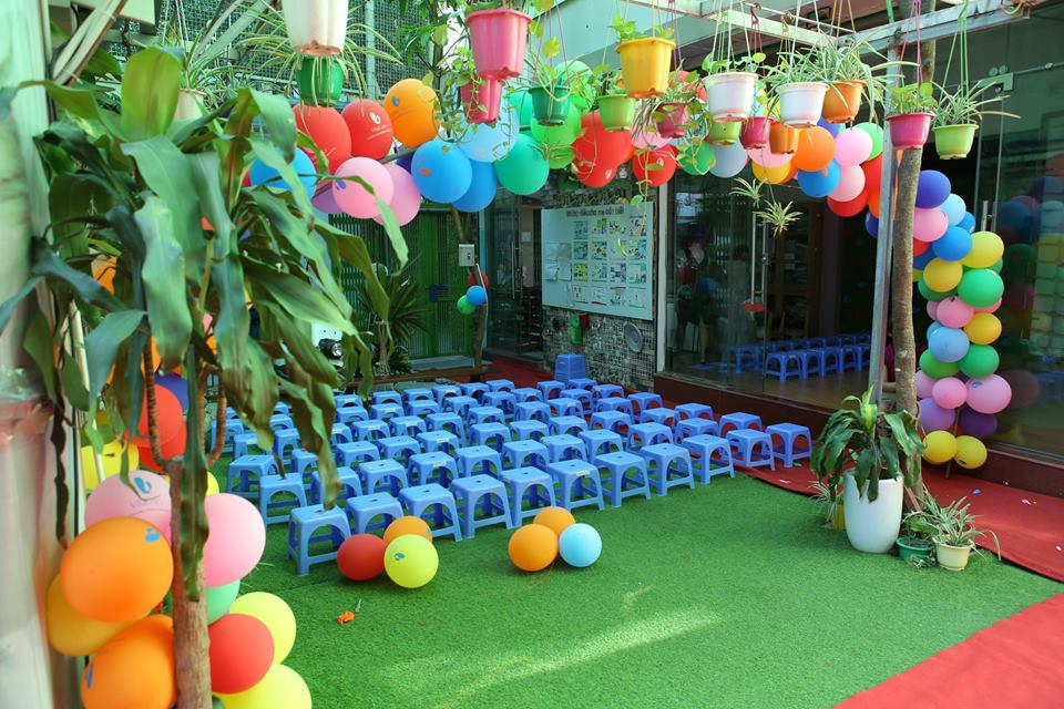 Cơ sở vật chất trường mầm non Ngôi Sao - Star Montessori tại quận Hai Bà Trưng, Hà Nội (Ảnh: FB trường)