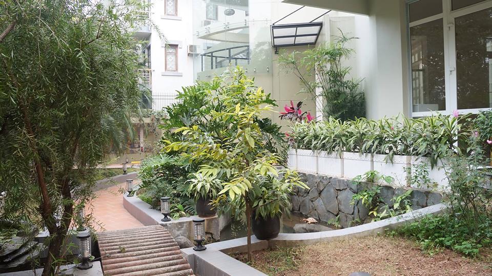 Cơ sở vật chất trường mầm non Roxy Montessori, quận Hoàng Mai, Hà Nội (Ảnh: FB trường)