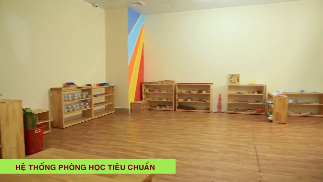 Cơ sở vật chất trường mầm non Sao Việt, quận Thanh Xuân, Hà Nội (Ảnh: FB trường)