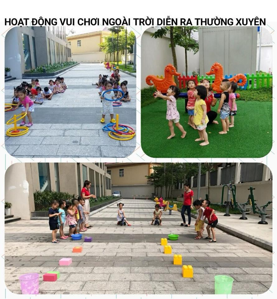 Cơ sở vật chất trường mầm non Ước mơ nhỏ - Little Dream tại quận Hoàng Mai, Hà Nội (Ảnh: FB trường)