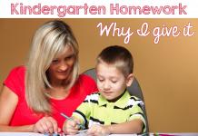 Cha mẹ giúp trẻ xử lý bài tập về nhà: Từ mẫu giáo tới lớp 2 (Ảnh: Time 4 Kindergarten)