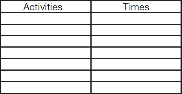Kỹ năng quản lý thời gian dành cho trẻ THCS (Ảnh: Teacher Vision)