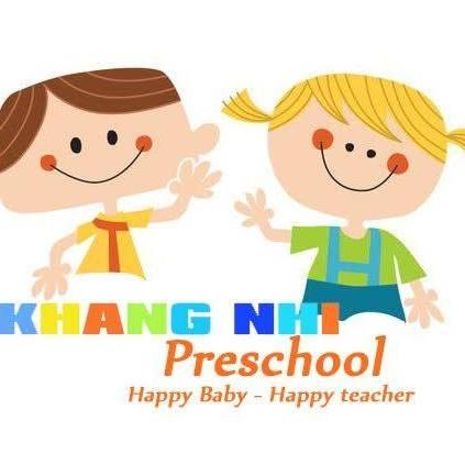 Logo trường mầm non Khang Nhi Montessori tại quận Ba Đình, Hà Nội (Ảnh: FB trường)