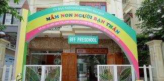 Trường mầm non Người Bạn Thân BFF tại quận Hoàng Mai, Hà Nội (Ảnh: website trường)