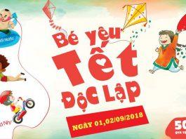 Ngày hội Bé yêu Tết Độc lập tại Le Parc by Gamuda, Hà Nội vào dịp lễ 2/9 (Ảnh: FB sự kiện)