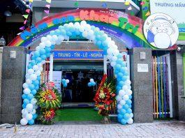 trường mầm non Khai Trí, quận Thanh Xuân, Hà Nội (Ảnh: FB trường)