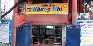 Trường mầm non Khang Nhi Mongtessori tại quận Ba Đình, Hà Nội (Ảnh: FB trường)