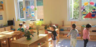 trường mầm non Peace Montessori - PMS tại quận Đống Đa, Hà Nội (Ảnh: FB trường)