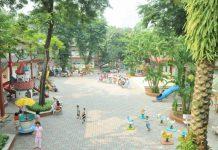 trường mầm non thực hành Hoa Hồng, quận Đống Đa, Hà Nội (Ảnh: website trường)