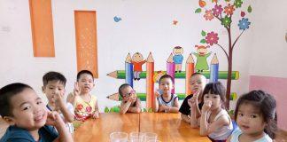 Trường mầm non Tomato - Cà chua đỏ tại quận Thanh Xuân, Hà Nội (Ảnh: FB trường)