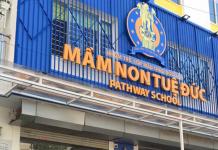 trường mầm non Tuệ Đức tại quận Hà Đông, Hà Nội (Ảnh: FB trường)