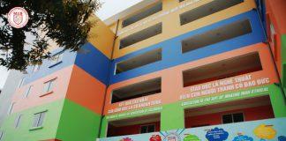 trường phổ thông liên cấp Đa Trí Tuệ - MIS bao gồm các cấp Tiểu học, THCS, THPT tại quận Cầu Giấy - Hà Nội (Ảnh: website trường via Dân Trí)
