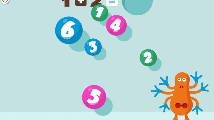 10 ứng dụng toán dạy trẻ các khái niệm số